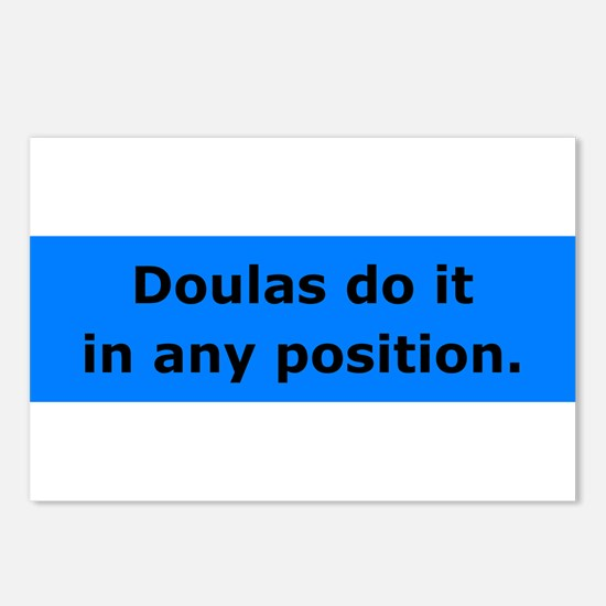 Doulas Do it Postcards (Package of 8)