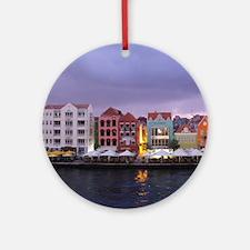 Curacao Dusk Ornament (Round)