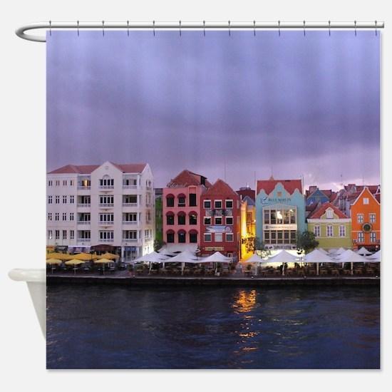 Curacao Dusk Shower Curtain