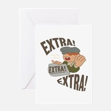 Extra Extra Greeting Cards