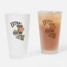 Extra Extra Drinking Glass