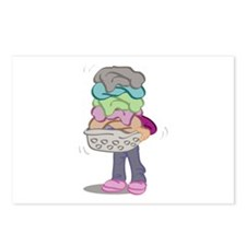 Laundry Pile Postcards (Package of 8)