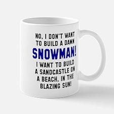 No build snowman Mug