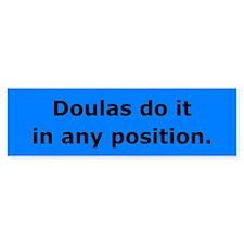 Doulas Do it Bumper Bumper Stickers