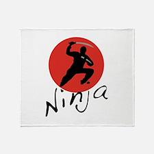 Ninja Ninja Throw Blanket