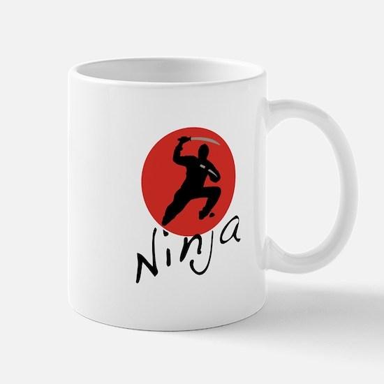 Ninja Ninja Mugs