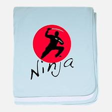 Ninja Ninja baby blanket
