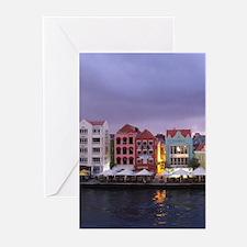 Curacao Dusk Greeting Cards
