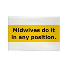 Midwives Do It Rectangle Magnet (10 pack)