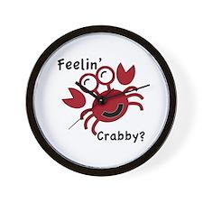 Feelin' Crabby? Wall Clock