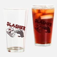 Slasher Drinking Glass