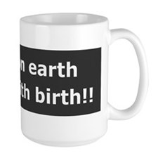 Peace With Birth Mug