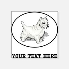 Custom Westie Sticker