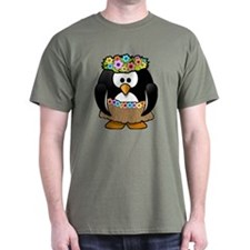 Hula Penguin T-Shirt