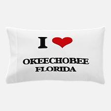 I love Okeechobee Florida Pillow Case