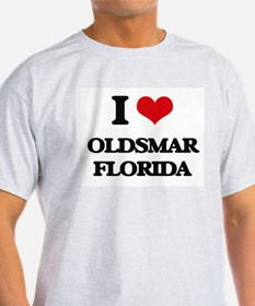 I love Oldsmar Florida T-Shirt