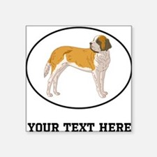 Custom Saint Bernard Sticker