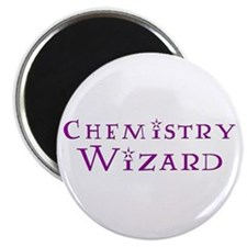 Chemistry Wizard Magnet