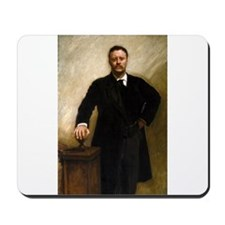 T Roosevelt by Sargent Mousepad