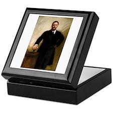 T Roosevelt by Sargent Keepsake Box