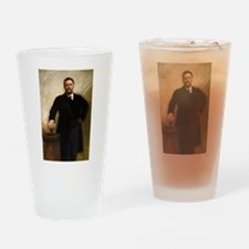 T Roosevelt by Sargent Drinking Glass