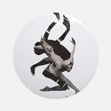 "Ballet "" Beetwen magic and tragic Ornament (Round)"