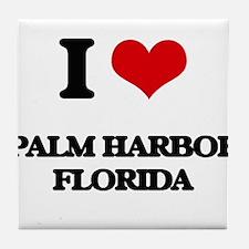 I love Palm Harbor Florida Tile Coaster
