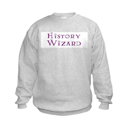 History Wizard Kids Sweatshirt