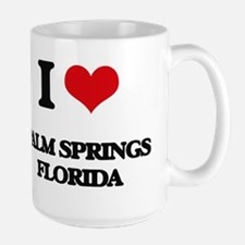 I love Palm Springs Florida Mugs