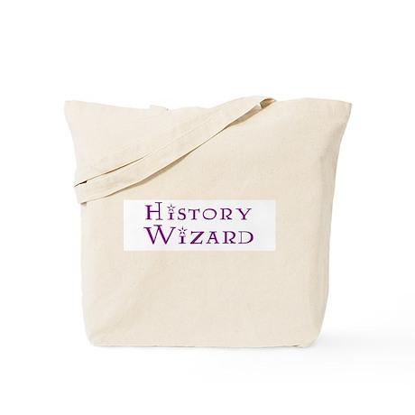 History Wizard Tote Bag