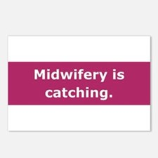 Midwifery is Catching Postcards (Package of 8)