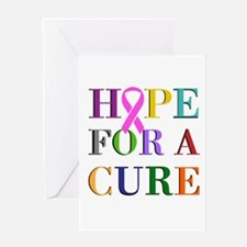 Hope For A Cure Greeting Cards