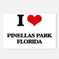I love Pinellas Park Flor Postcards (Package of 8)
