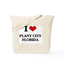 I love Plant City Florida Tote Bag