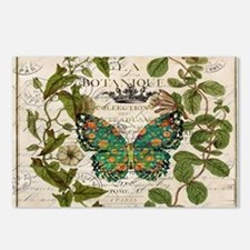 vintage botanical art but Postcards (Package of 8)
