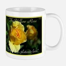 Yellow Rose Meaning Mug