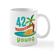 42nd Birthday Hawaiian Mug