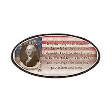 George Washington - Faith Patch