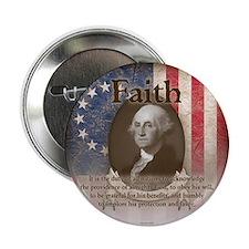 "George Washington - Faith 2.25"" Button (100 pack)"