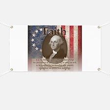 George Washington - Faith Banner
