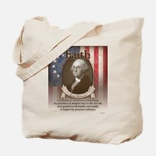 George Washington - Faith Tote Bag