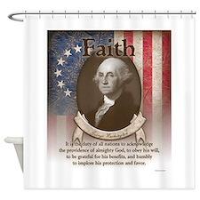 George Washington - Faith Shower Curtain