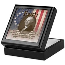 George Washington - Faith Keepsake Box