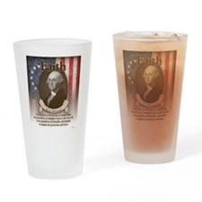 George Washington - Faith Drinking Glass
