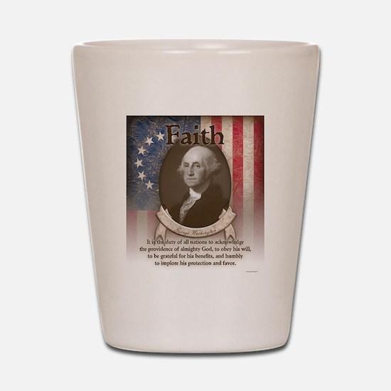 George Washington - Faith Shot Glass