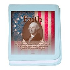 George Washington - Faith baby blanket