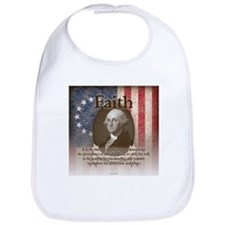 George Washington - Faith Bib