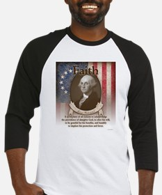 George Washington - Faith Baseball Jersey