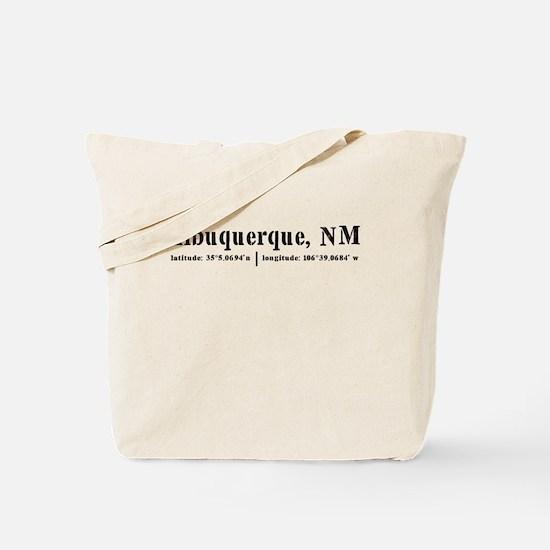 albuqueque, NM Tote Bag