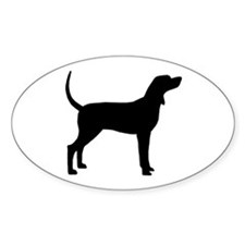 Coonhound Dog (#2) Decal